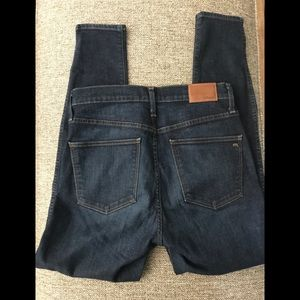 """Madewell 10"""" High Rise Skinny jeans size 30"""